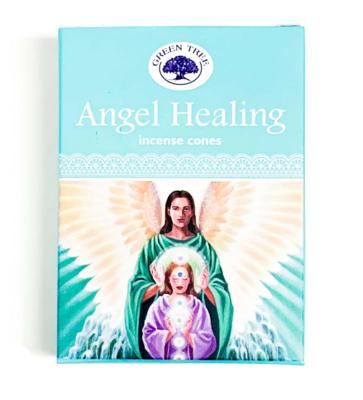 Encens en cônes - Angel Healing - Green Tree