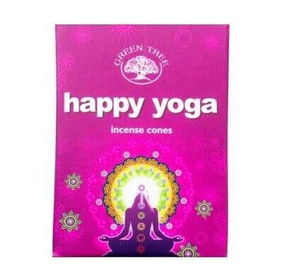 Encens en cônes - Happy Yoga - Green Tree