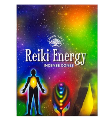 Encens en cônes - Reiki Energy - Green Tree