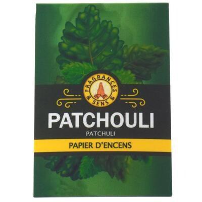 Papier d'arménie triple - Patchouli