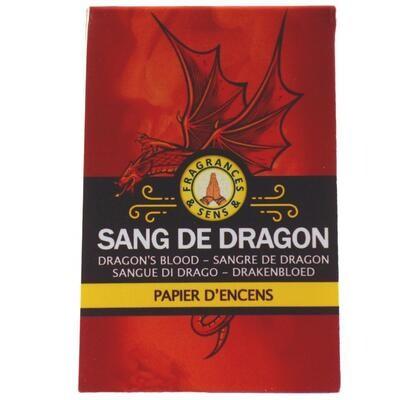 Papier d'arménie triple - Sang de Dragon