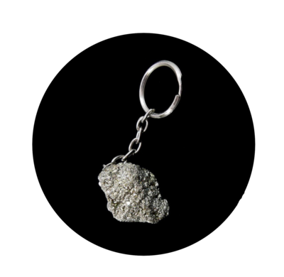 Porte clé Pyrite brute