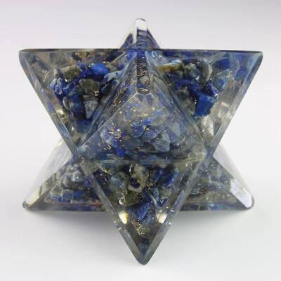 Merkaba orgone  Lapis Lazuli 6,2 cm