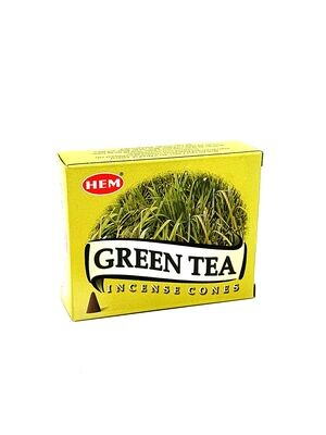 Encens en cônes Green Tea - Hem
