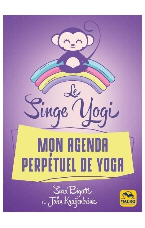 Le singe yogi mon agenda perpétuel de yoga