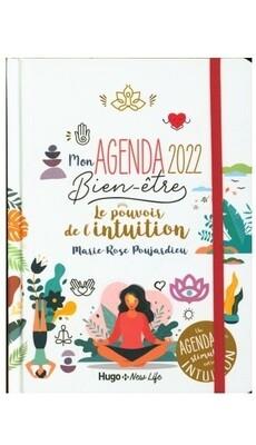 Mon agenda 2022 bien-être le pouvoir de l'intuition