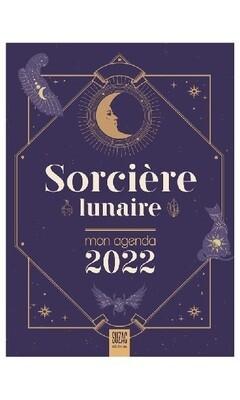 Sorcière lunaire mon agenda 2022