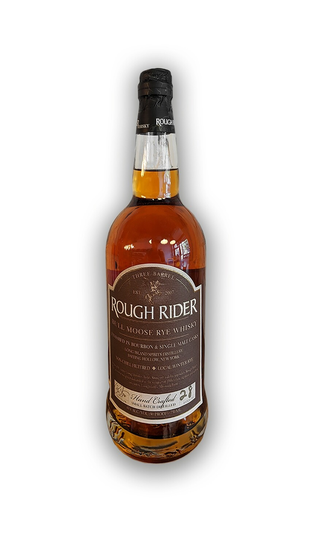 Rough Rider Bull Moose 3 Barrel Rye Whiskey 750 ML