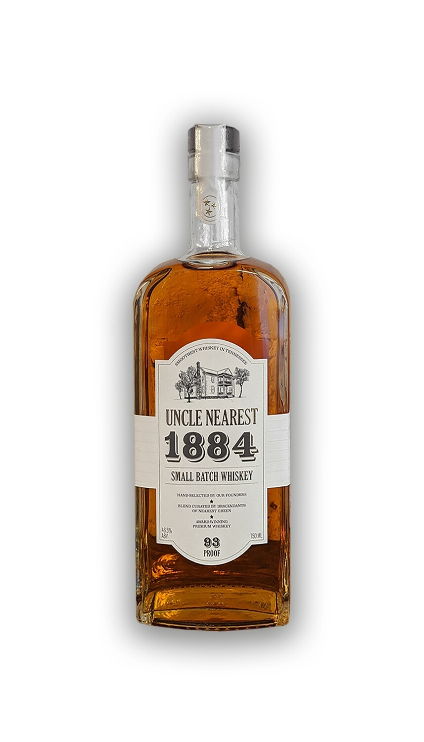 Uncle Nearest 1884 Small Batch Whiskey 750 ML