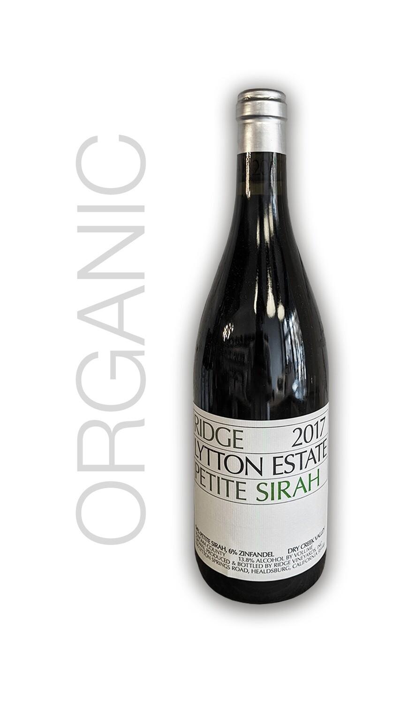 Ridge Lytton Estate Petite Sirah 2017