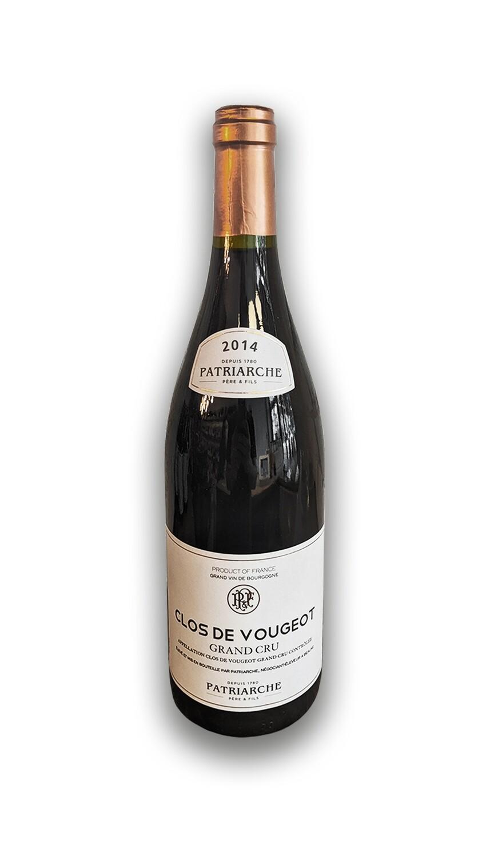 """Patriarche-Clos Vougeot """"Grand Cru"""" Burgundy 2014"""