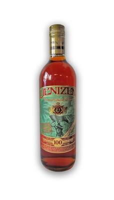 Denizen Vatted Dark Rum Guyana Martinique 100 proof