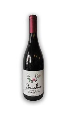 Bacchus  Ginger's Cuvee  Pinot Noir 2018