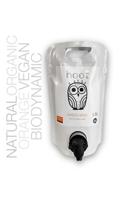 Georgas Family Hoot Amber 1.5 L Pouch