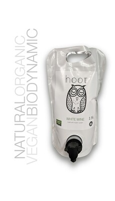 Georgas Family Hoot White Wine Blend 1.5L Pouch