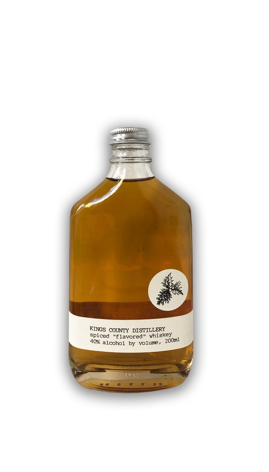 Kings County Spiced Whiskey - 200 ML