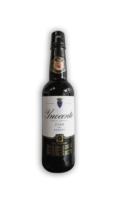 Bodegas Valdespino Fino Dry Sherry Inocente Single Vineyard Jerez Xeres Sherry 375 mL