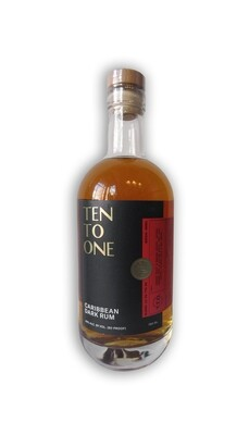 Ten To One Caribbean Dark Rum 750 mL