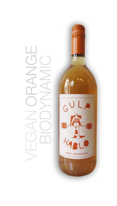 Gulp Hablo Verdejo-Sauv Blanc  1L 50%/50% Orange