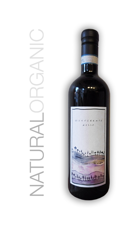 Prima Piuma Monferrato Rosso 2019 Organic Natural