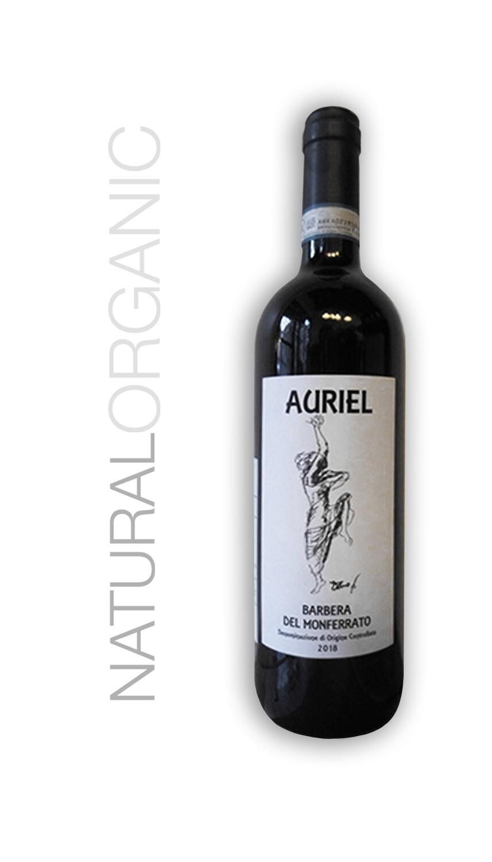 Auriel Barbera del Monferrato 2018 Organic Natural