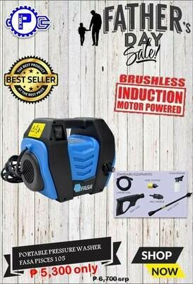 Portable Pressure Washer FASA PISCES 105