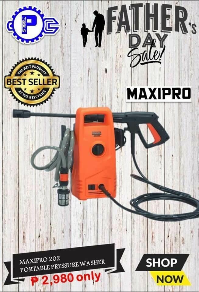 MAXIPRO 202 Portable Pressure Washer