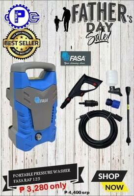 Portable Pressure Washer FASA RAP 125
