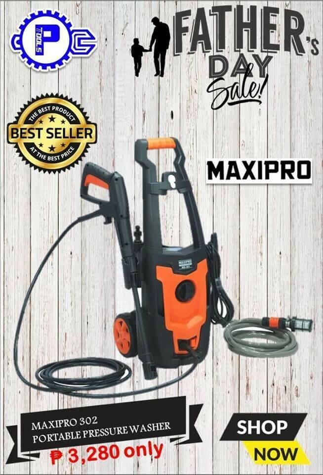 MAXIPRO® 302 Portable Pressure Washer