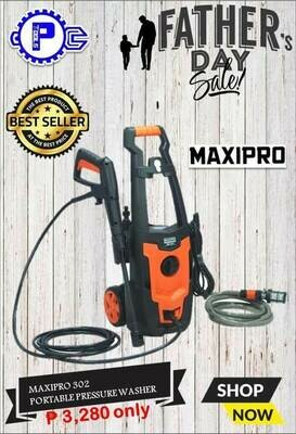MAXIPRO® 302 Portable Pressure Washer