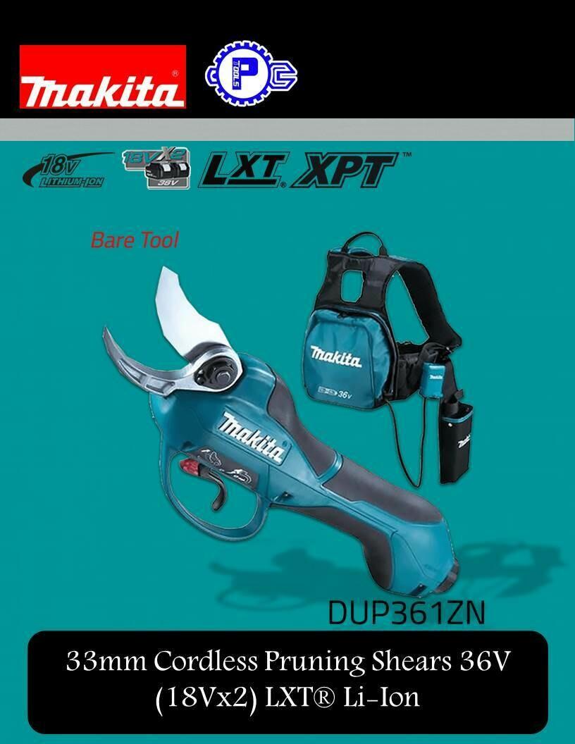 Makita 33mm Cordless Pruning Shears 36V (18Vx2) LXT® Li-Ion