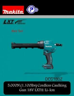 Makita Cordless Caulking Gun 18V LXT® Li-Ion