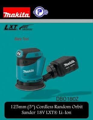 Makita (5″) Cordless Random Orbit Sander 18V LXT® Li-Ion