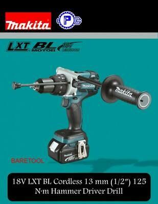 Makita 18V LXT BL Cordless 13 mm (1/2″) 125 N·m Hammer Driver Drill