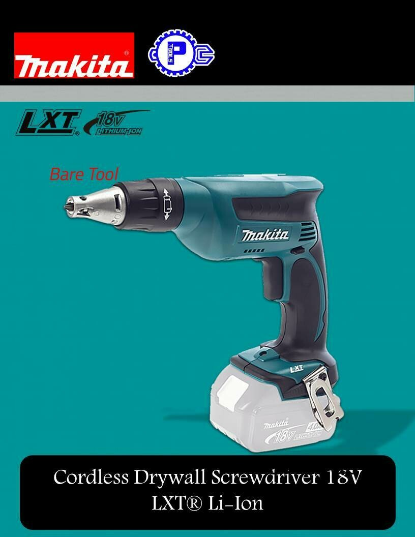 Makita Cordless Drywall Screwdriver 18V LXT® Li-Ion