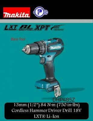 Makita 13mm Cordless Hammer Driver Drill 18V LXT® Li-Ion
