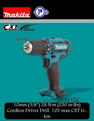 Makita 10mm Cordless Driver Drill 12V max CXT Li-Ion
