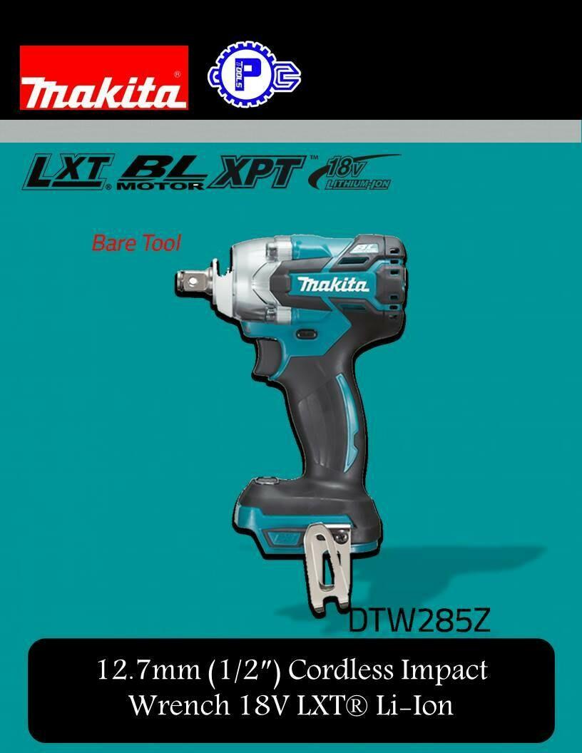 Makita 12.7mm (1/2″) Cordless Impact Wrench 18V LXT® Li-Ion