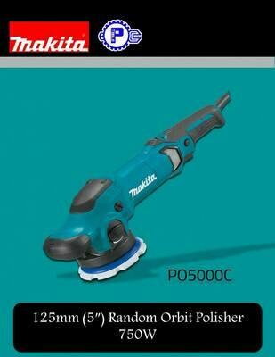 Makita 125mm (5″) Random Orbit Polisher 750W