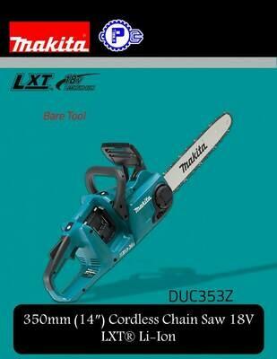 Makita 350mm (14″) Cordless Chain Saw 18V LXT® Li-Ion