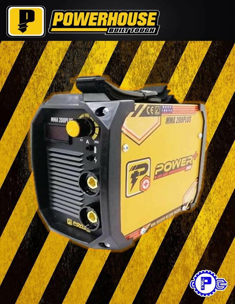 POWERHOUSE USA - Powerplus USA 200A Inverter Welding Machine