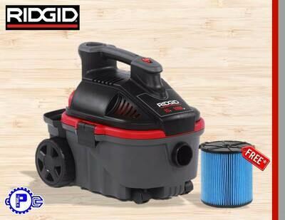 RIDGID - VACUUM CLEANER WET&DRY 15L/4GALS