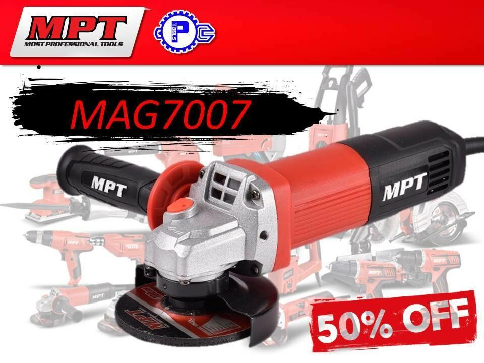 MPT Angle Grinder 700W (slim type)