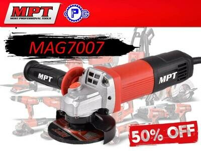 MPT Angle Grinder 700W (slim type)
