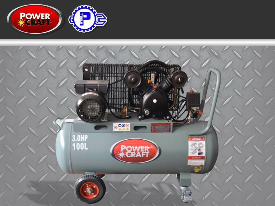 Powercraft Air Compressor 3HP Horizontal