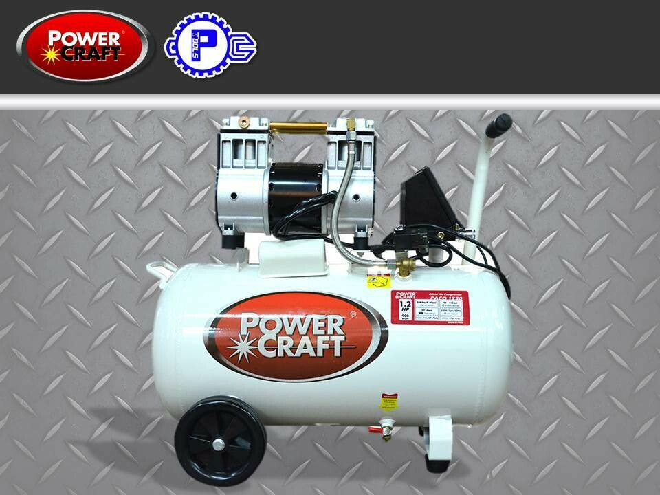 Powercraft Oil Less Air Compressor 1.2 HP with Intelligent Digital Controller