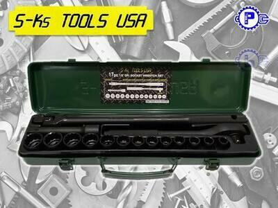 S-Ks TOOLS 17pcs 1/2' DR. Socket Wrench Set