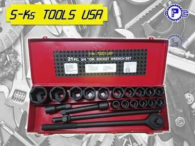 S-Ks Tools USA 17pcs 3/4