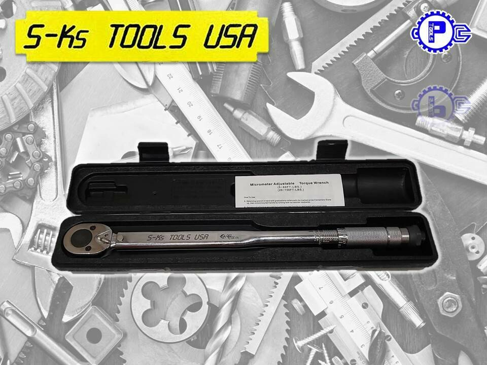 S-Ks Tools USA Torque Wrench