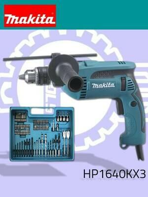Makita 16mm (5/8″) Hammer Drill, Keyed Chuck 680W [Kit]